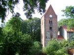 Turm der Buschower Kirche