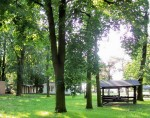 Zentraler Festplatz und Park