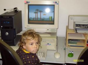 Pascal lernt Mario noch und will immer was Neues