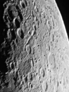 Erstes Mondfoto im Optikpark 30-03-2009