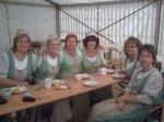 Landfrauen in Kostümen