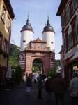 Tor der Alten Brücke in Heidelberg
