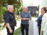 Ernie Köwing bei Herrn und Frau Falkenhagen