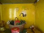 Der Honig-Verkaufsstand